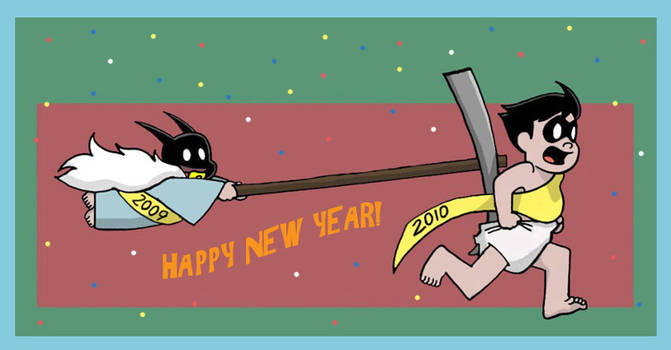 Happy New Year by The-BlackCat