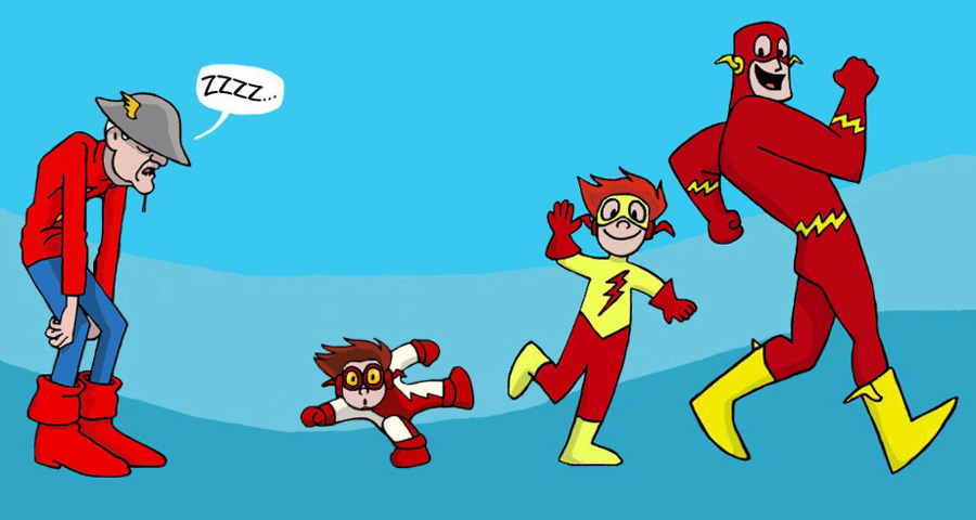 The Flash Crew by The-BlackCat