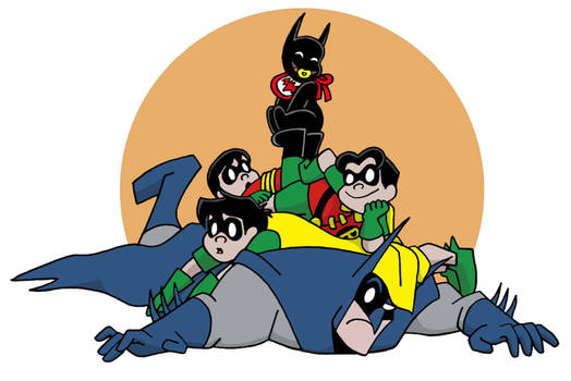 Bat-Pile by The-BlackCat