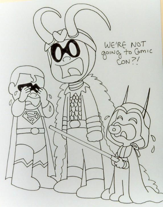 No Comic Con by The-BlackCat