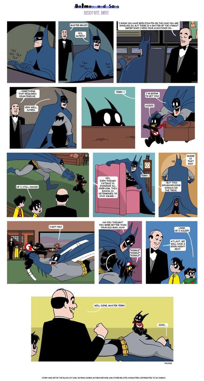 Beddy-Bye, Batsy by The-BlackCat