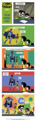 Holy 50th Anniversary, Batman! by The-BlackCat