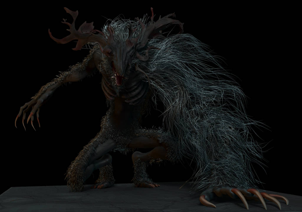 Cleric Beast by ToshiTNE