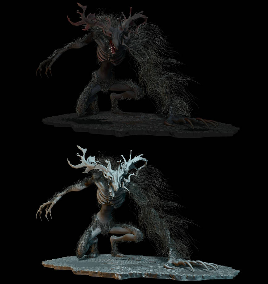 Cleric Beast 2 by ToshiTNE