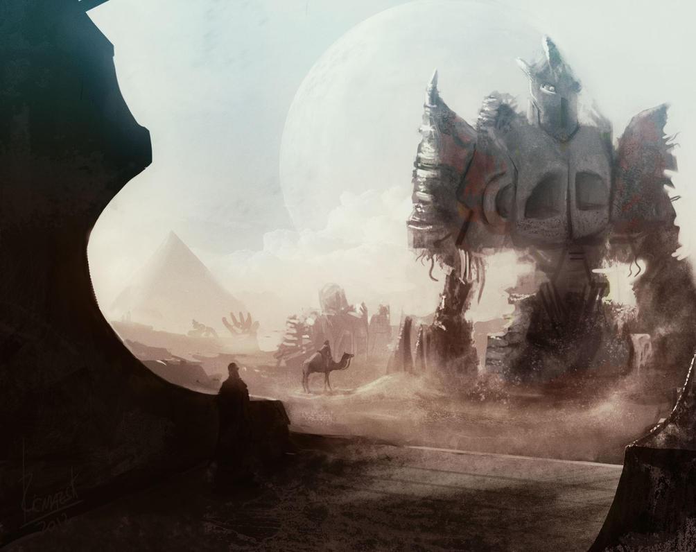 Desiertobot by Ricmazsk