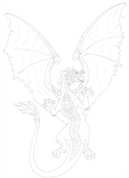 Dragon Drawing 20170608_1