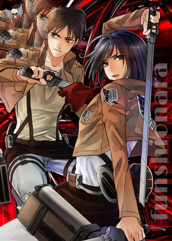 Mikasa X Eren By Funshionara On Deviantart