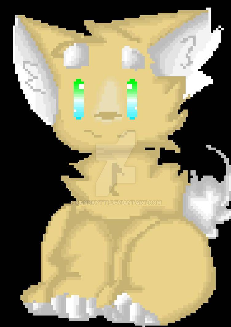 pixel corgi (old) by KandKytti