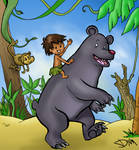 Jungle Book Jungle Friends