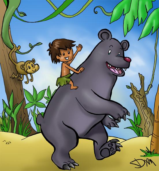 Jungle Book Jungle Friends