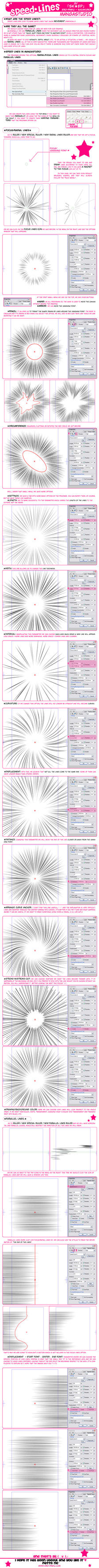 Tutorial - Speed lines by Ero-Pinku