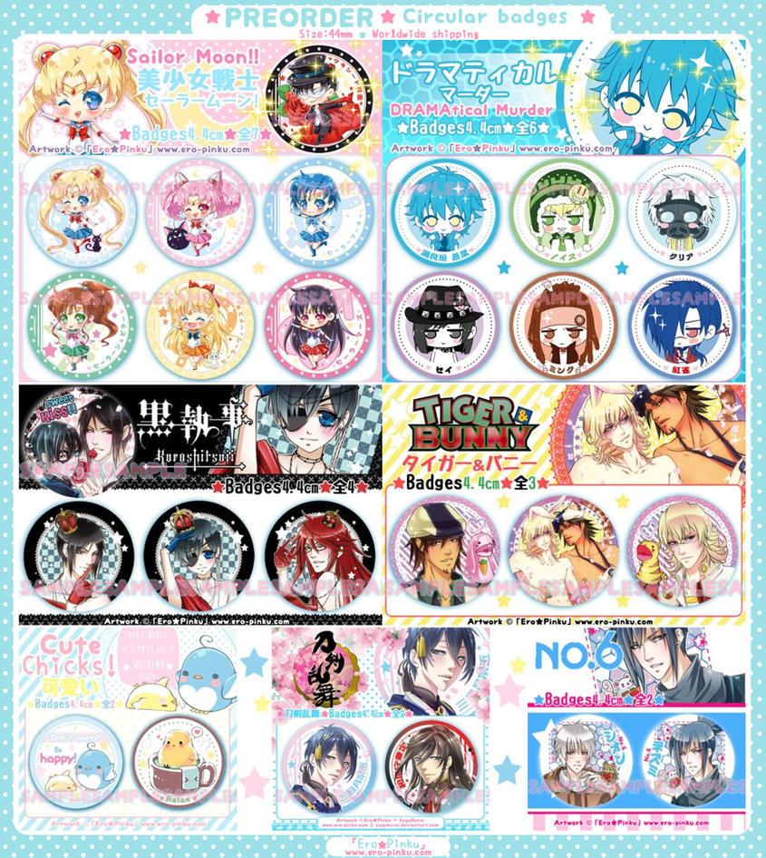 Badges by Ero-Pinku