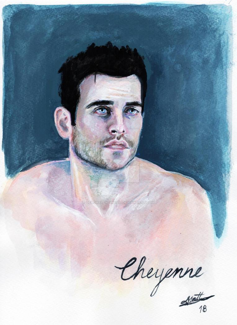 Cheyenne Jackson by deadvalentines17