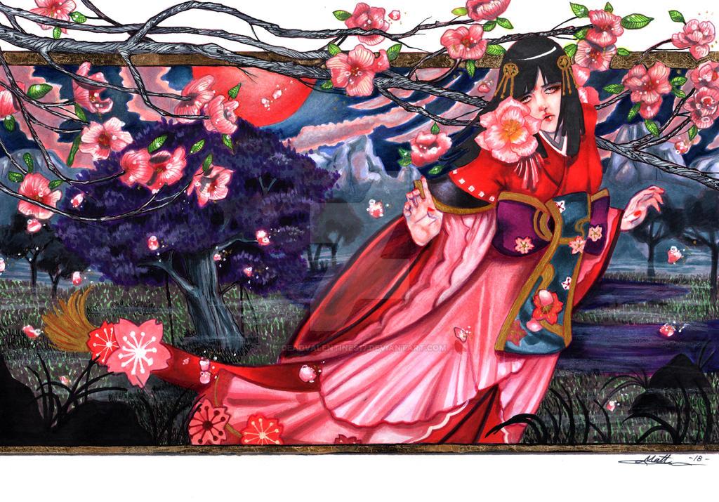 Onmyoji -SAKURA by deadvalentines17