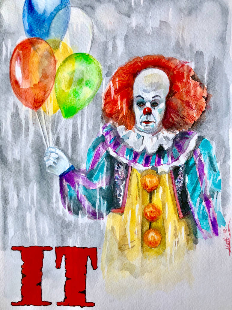 Pennywise  by deadvalentines17