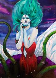 Queen Metalia  by deadvalentines17
