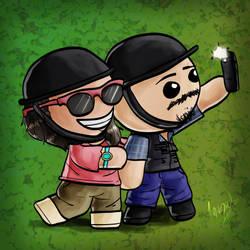 Chibi Selfie by Invark