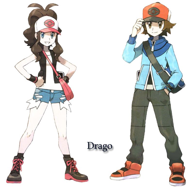 pokemon girl trainers white and black porn
