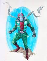 kamen rider v3 by yjianlong