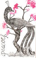 Peacock by Azrethr