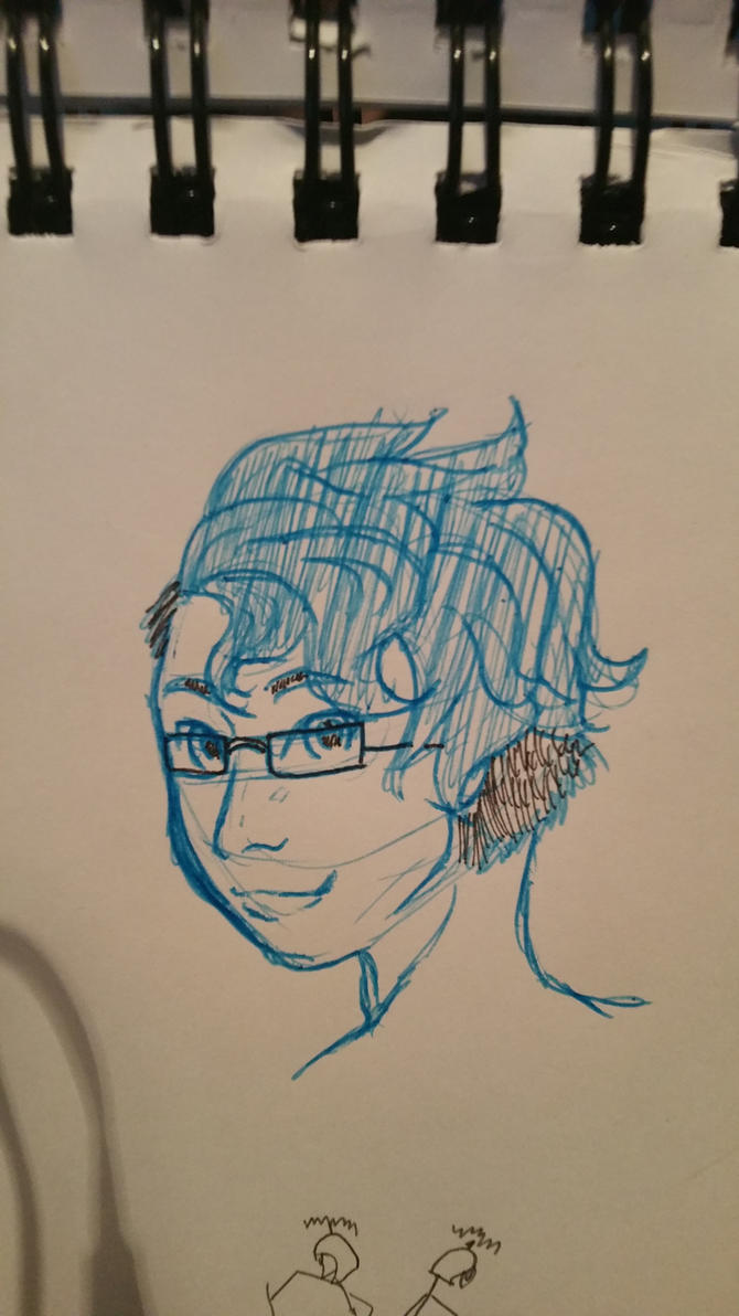 Quick marki sketch by Azrethr