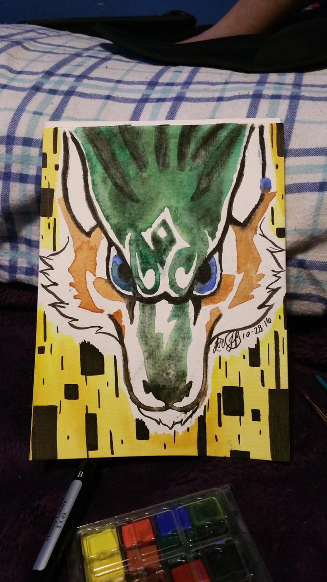 Wolf Link by Azrethr