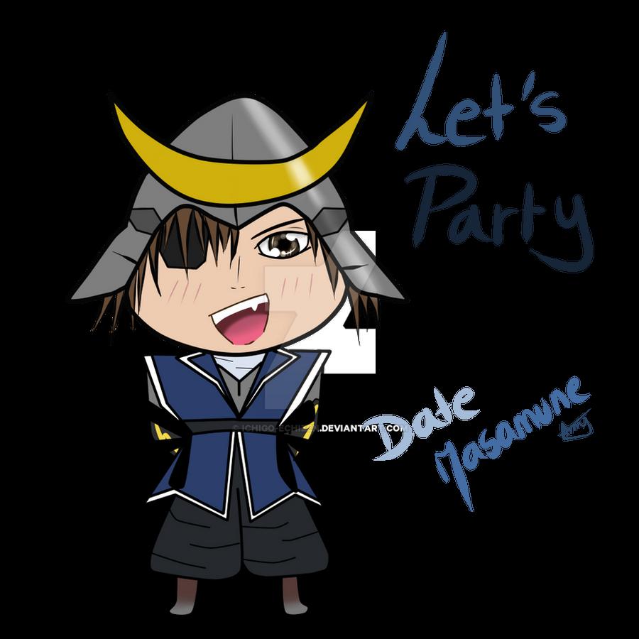 echizen.mine.nu Ichigo-Echizen 20 4 LET'S PARTY - Date Masamune Chibi (Sengoku Basara) ...