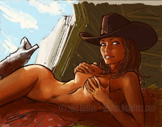 Cowgirl by BenTanArt