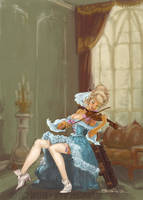 COMMISSION: Belle Baroque by BenTanArt