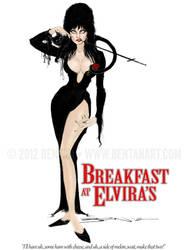 Breakfast at Elvira's by BenTanArt