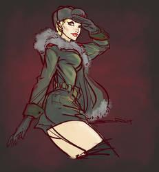 Russian Soldier by BenTanArt