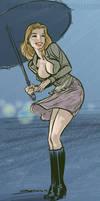 All Wet by BenTanArt