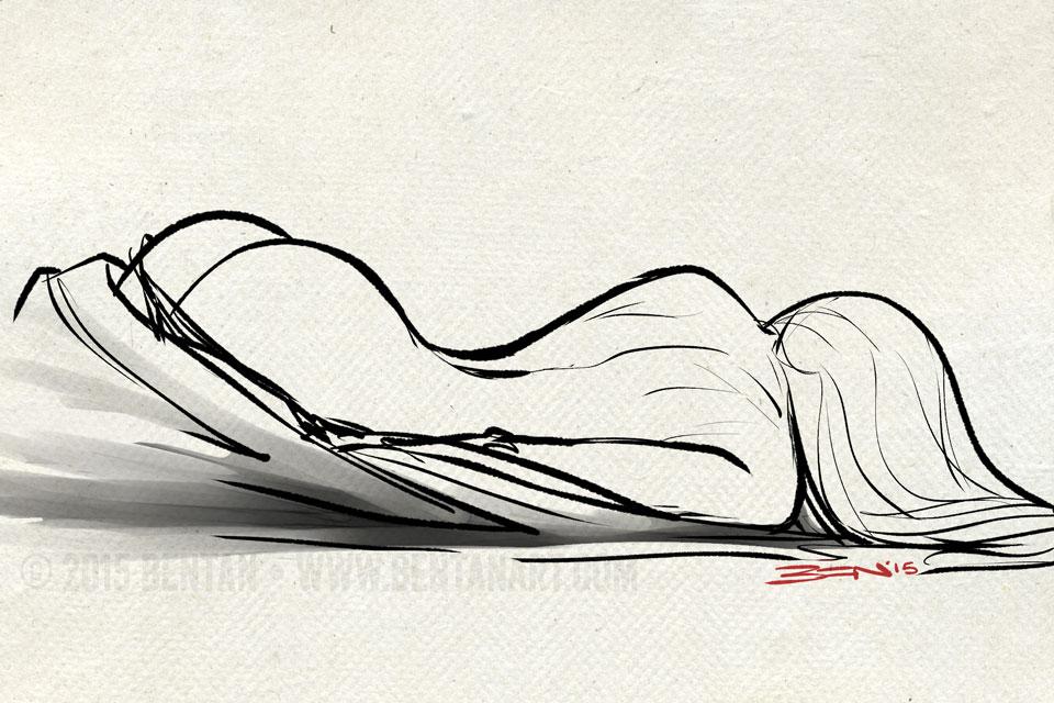 Waking Up by BenTanArt