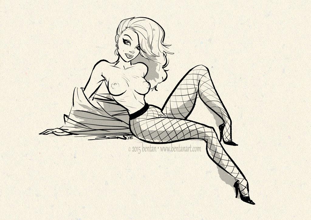 Dailies: Fishnet by BenTanArt