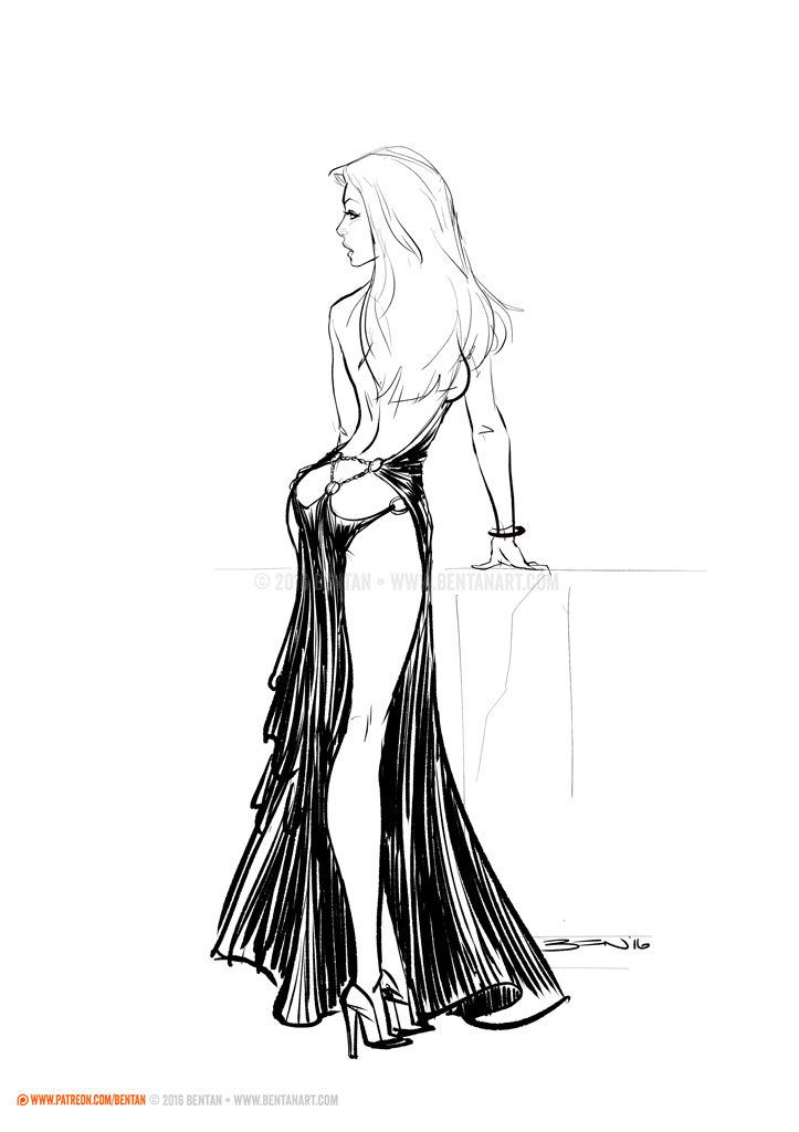 Backless by BenTanArt