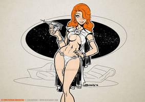 Space Vixen by BenTanArt