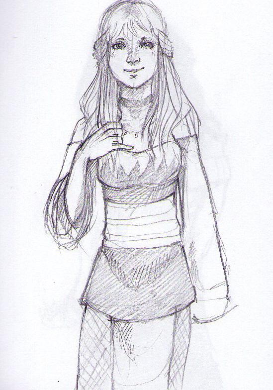 Hinagiku sketch by Ayu16 by Jaz-Saxx