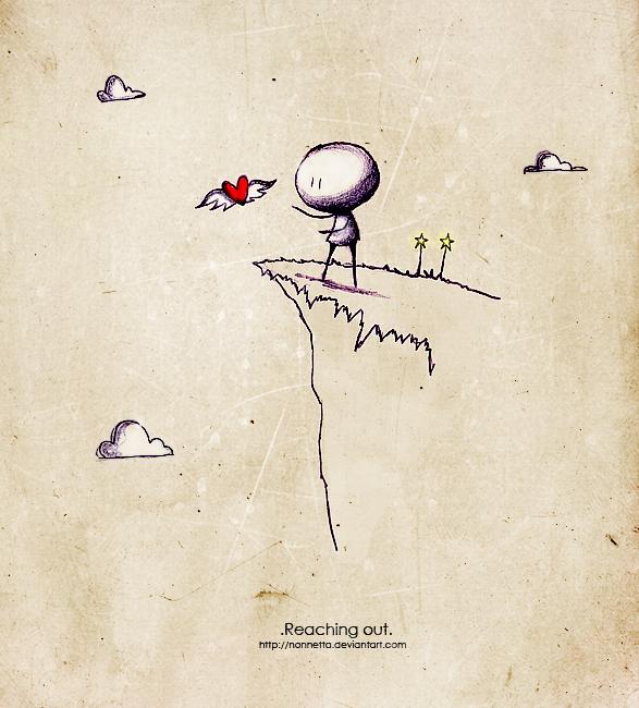 Reaching out. by Nonnetta on DeviantArt