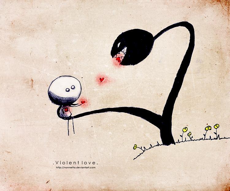Няшные рисунки про любовь