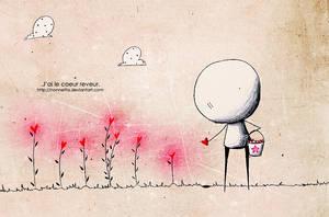 .Coeur reveur. by Nonnetta