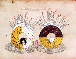 .Breakfast in wonderland. by Nonnetta