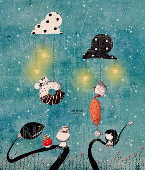Tea time by Nonnetta