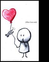 When love ends.. by Nonnetta
