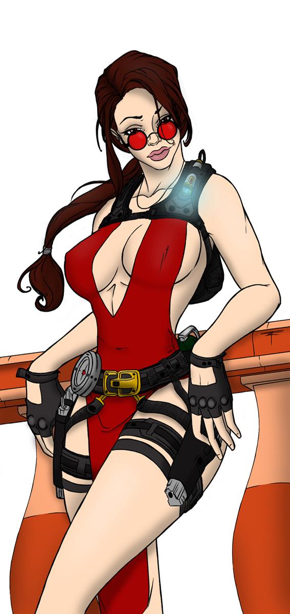 Lara Croft by KimikoDnD