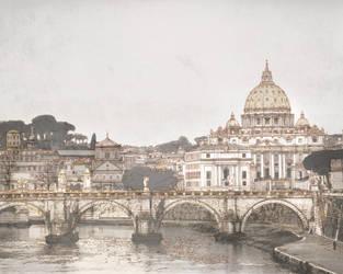 San Pedro, Italy - Digital Drawing by shirosynth