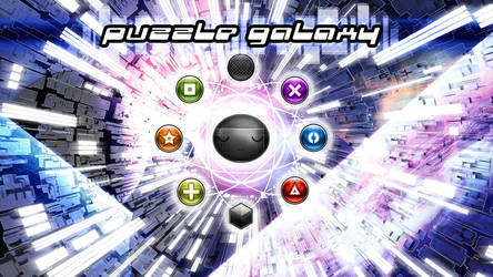 Puzzle Galaxy - Convergence by shirosynth