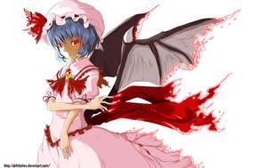 Remilia Scarlet by AkihikoHex