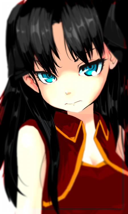 Tohsaka Rin by AkihikoHex