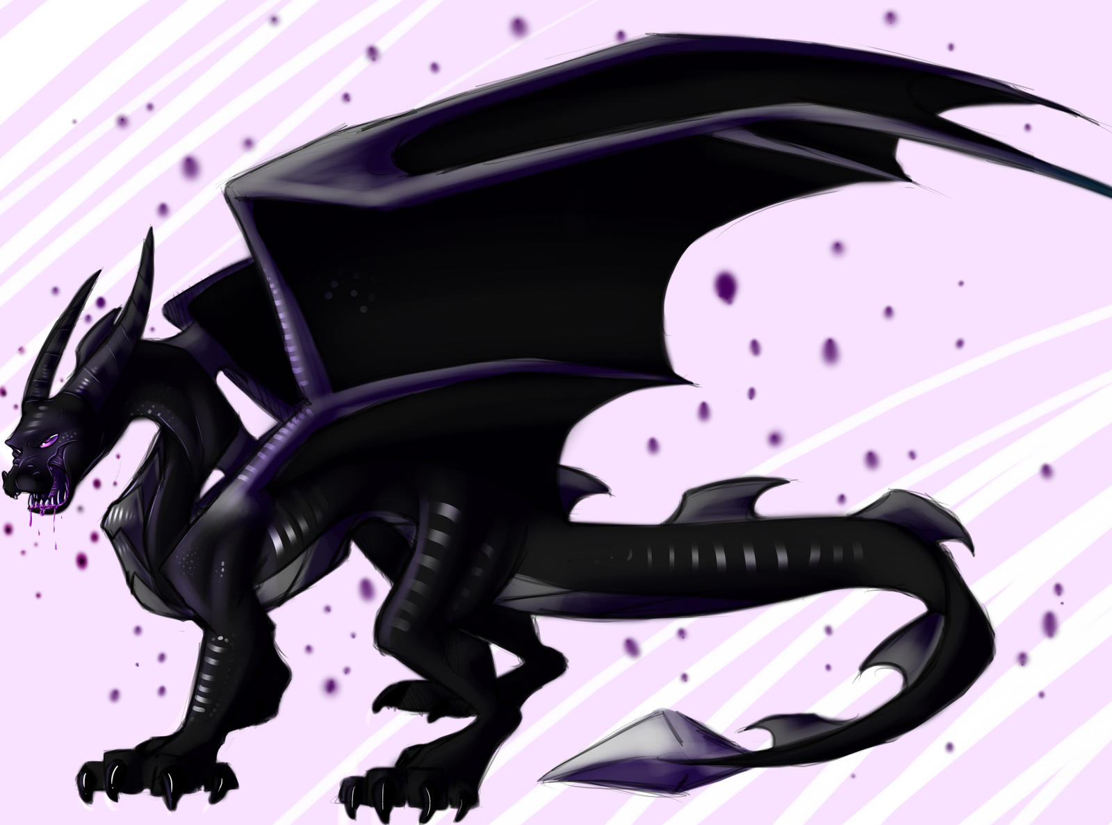 Ender Dragon By Squidub