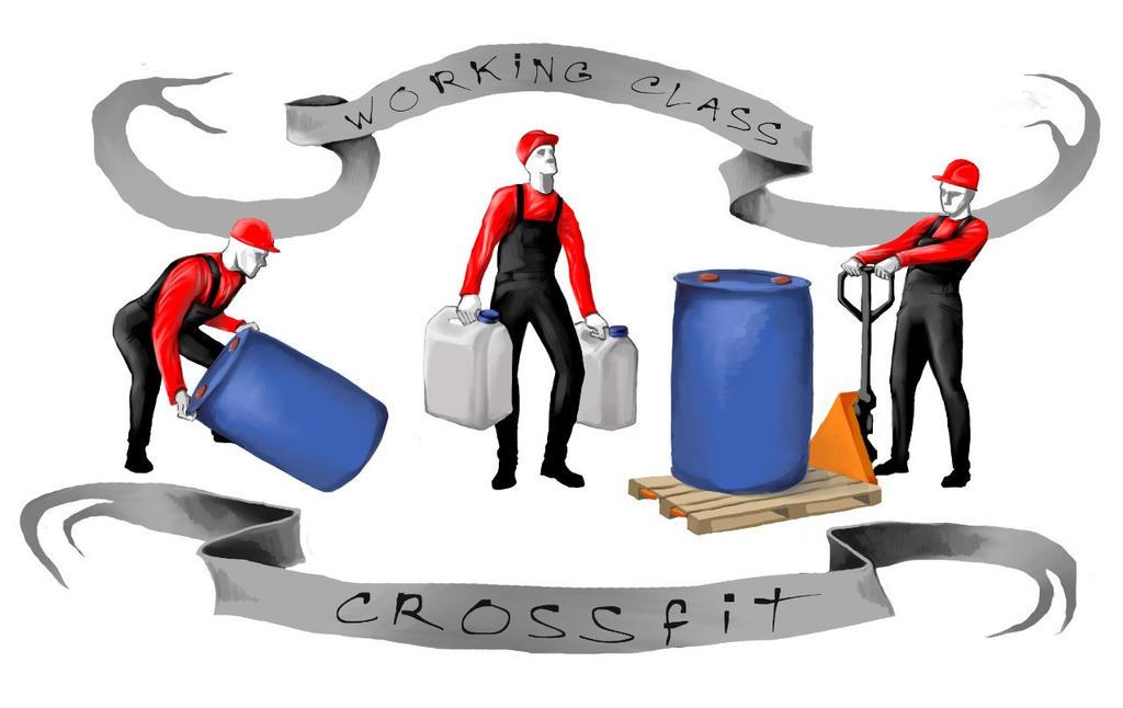 Working class crossfit by Nuksolop